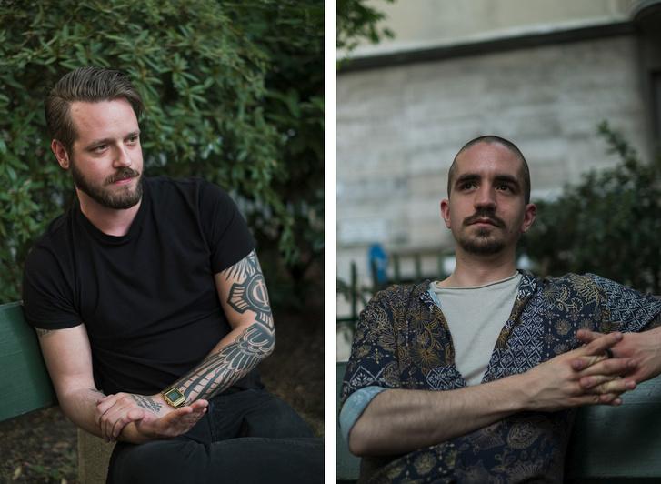 Balra Zsolt, jobbra Gábor