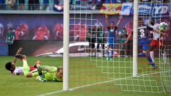 Most a Bundesligában kapott ötöt Gulácsi Péter