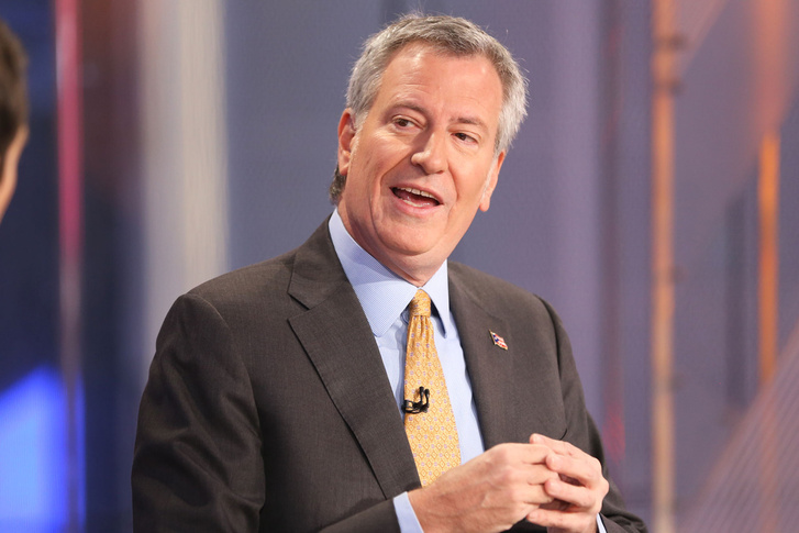 Bill de Blasio, New York polgármestere 2014 óta