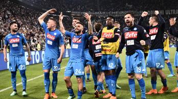 Újra nyílt az olasz bajnokság, a Napoli megverte a Juventust
