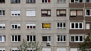 Felére zuhant a panellakások drágulása Budapesten