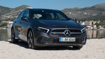 Bemutató: Mercedes-Benz A osztály – 2018.