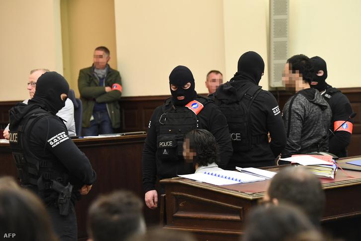 Salah Abdeslam egy korábbi tárgyaláson