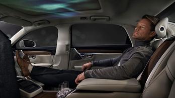 A Volvónál így képzelik a jövő luxusautóját