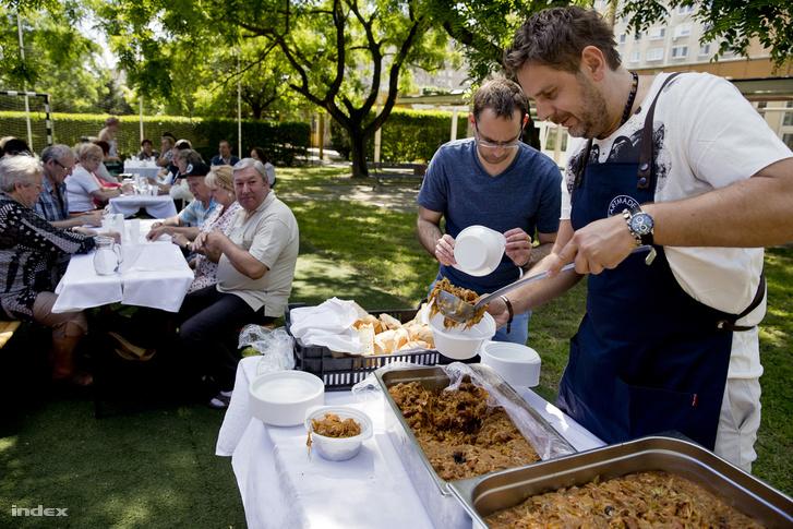 Wojciech Amaro a tavalyi Gourmet fesztiválon