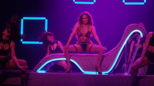 Jennifer Lopezt nagyon forróra koreografálták Las Vegasban