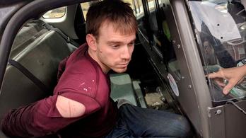 Elfogták az amerikai étteremben lövöldöző férfit