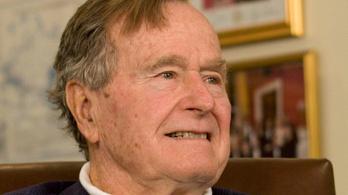 George H. Bush intenzív osztályon van, de túl az életveszélyen