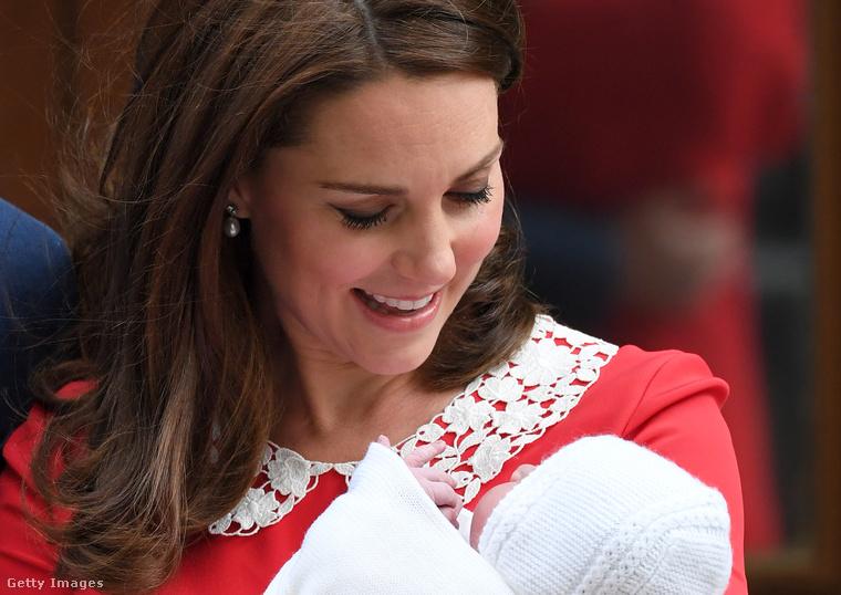 Majd pár órával később már meg is született Vilmos herceggel harmadik közös gyermeke.