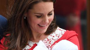 Most megnézheti Katalin hercegné újszülött kisfiát!
