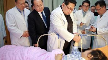 Kiakadva gyászol Kim Dzsongun az észak-koreai buszbaleset miatt