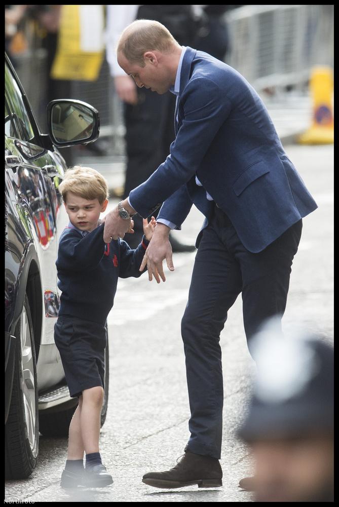 György herceg már szinte rutinosnak mondható ilyesmiben, legalábbis tett már ilyen látogatást