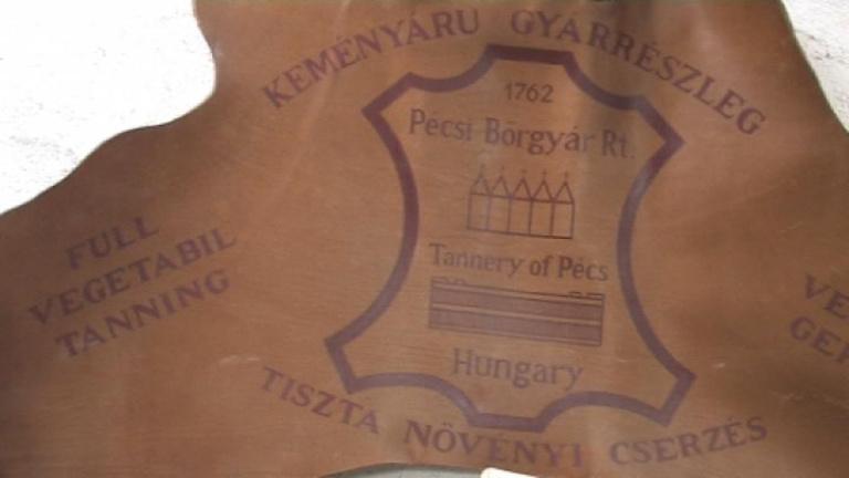 A feketepiac kikészítette Pécsen a bőrgyárat