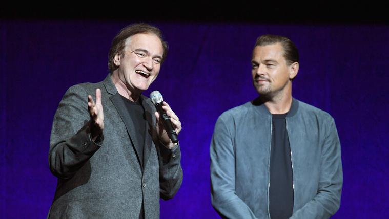 Leonardo DiCaprio odáig van az új Tarantino-filmért