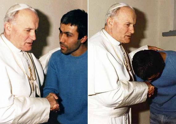 II. János Pál pápa korábbi merénylőjével
