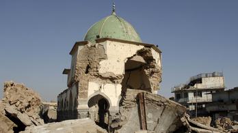 Újjáépítik a moszuli nagymecsetet, amit az IS robbantott fel
