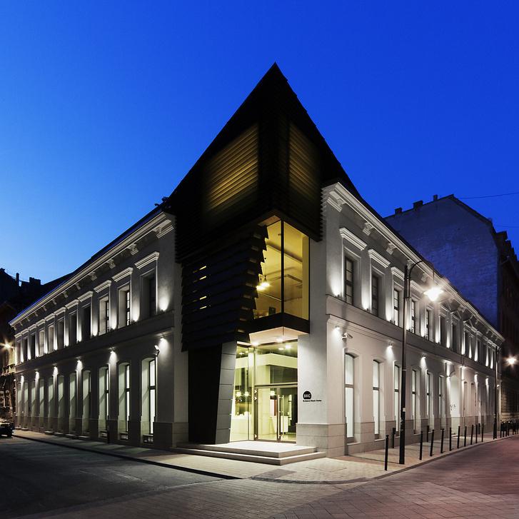 A BMC épülete a Mátyás utcában