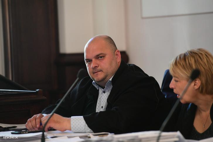 Takács Zoltán, Győrkös ügyvédje