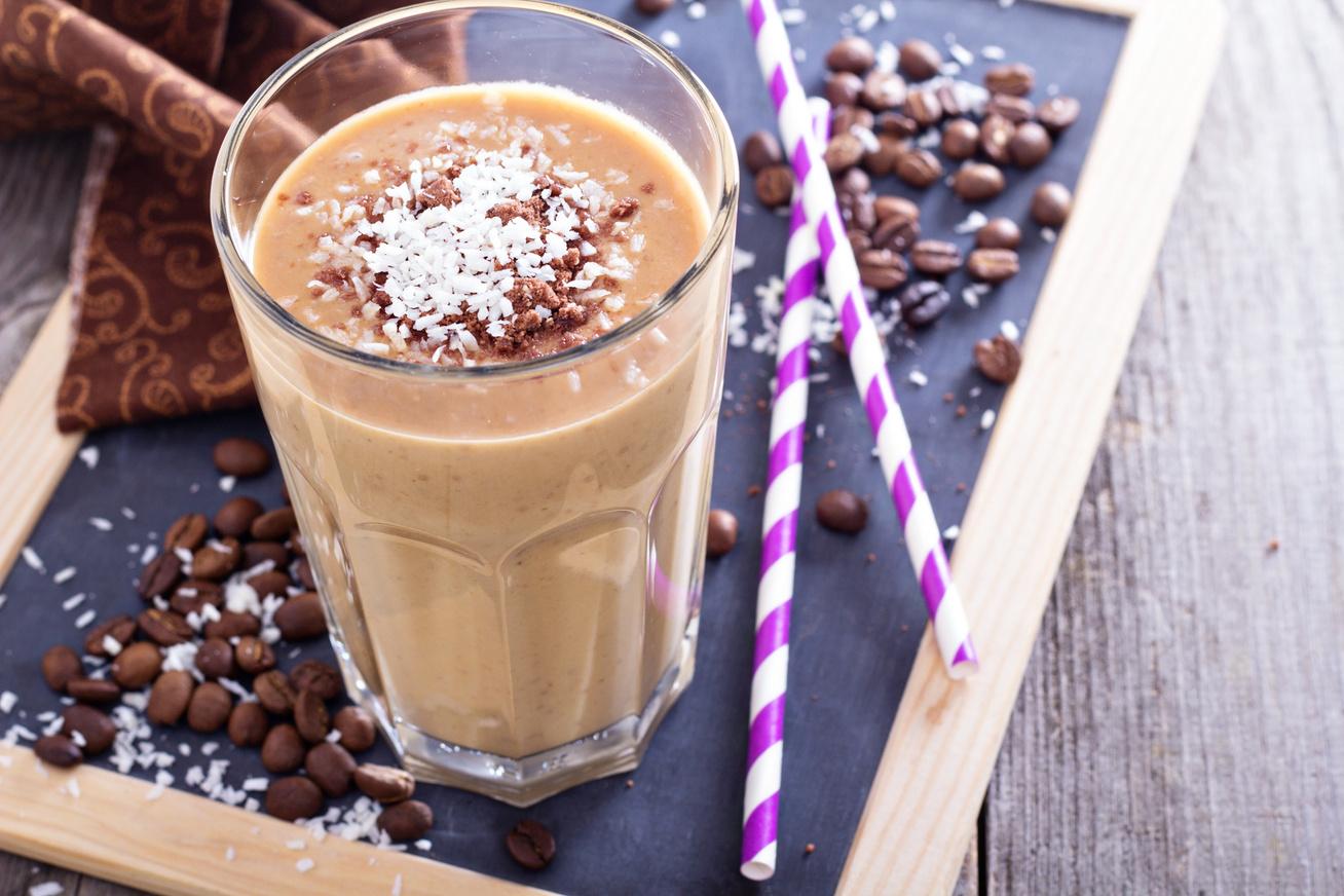 kokuszos kaves smoothie