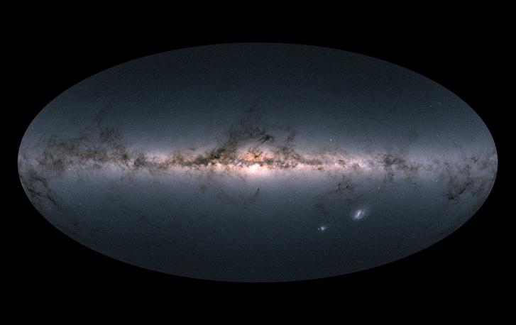 Gaia s sky in colour