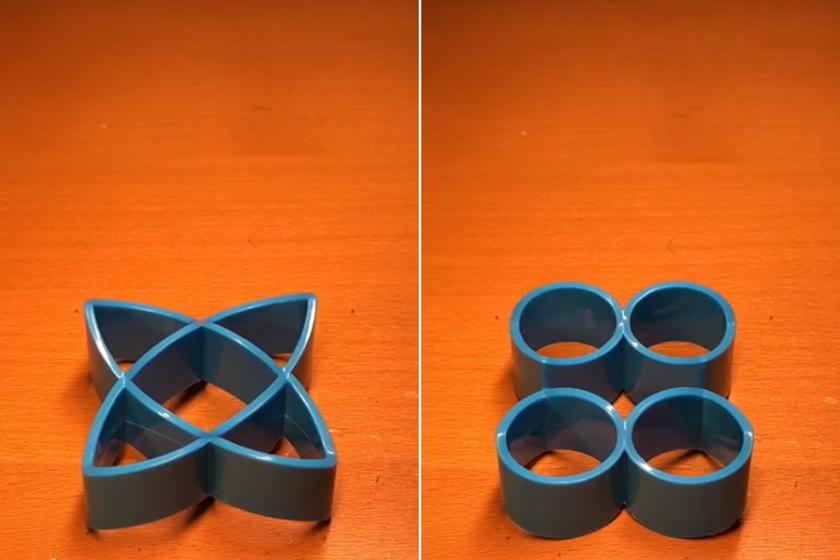 Nem tud mit kezdeni az agy ezzel a tárggyal: te milyen alakúnak látod?