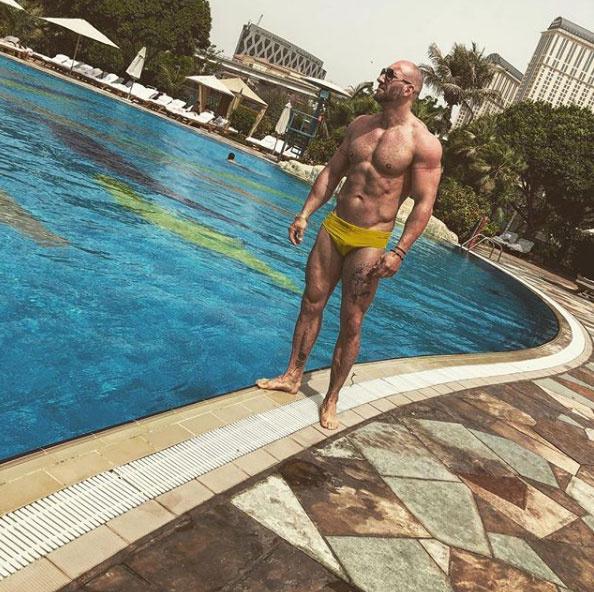 Berki Krisztián jelenleg Dubajban pihen a barátaival - a luxust itt sem veti meg.