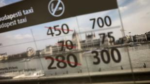 Kiszámoltuk: 500 Ft-tal drágább lesz taxizni