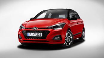 Átalakul a Hyundai i20-as
