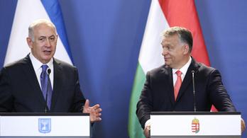 Az izraeli miniszterelnök köszönetet mondott Orbánnak