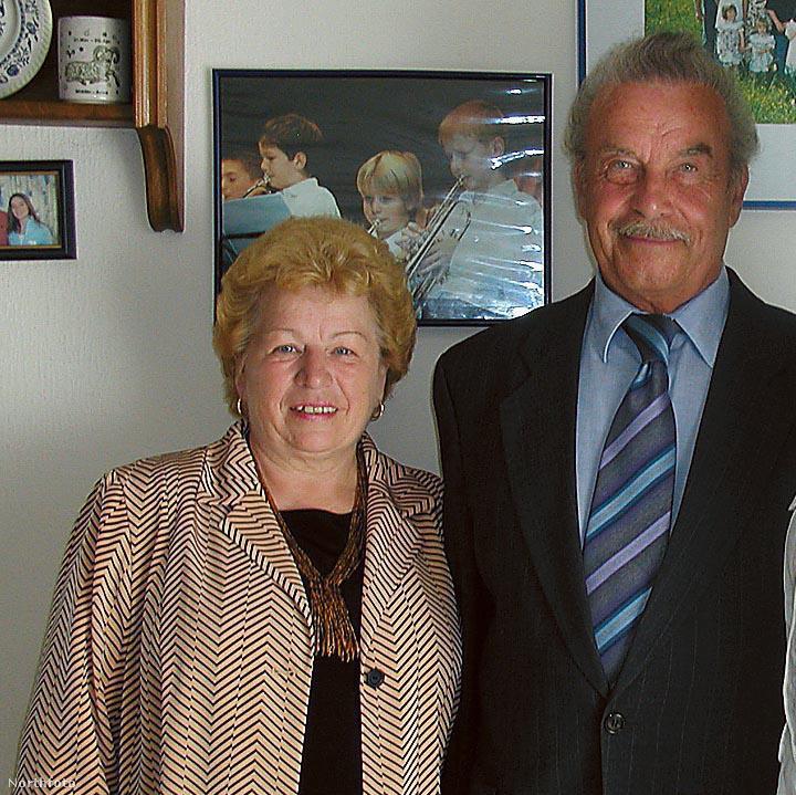 Josef Fritzl és felesége Rosamarie