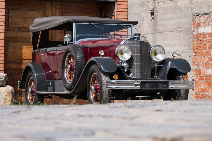 Ez volt az újonnan alakult Mercedes-Benz cég legismertebb autója