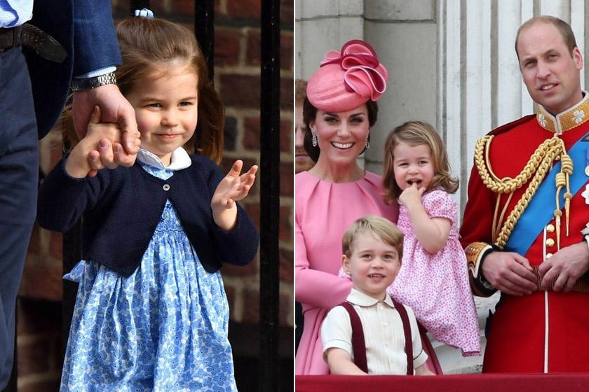 Charlotte brit királyi hercegnő még csak hároméves, de komoly rajongótábora van. A brit trónörökösödési rendben a negyedik helyet foglalja el nagyapja, Károly walesi herceg, apja, Vilmos cambridge-i herceg és bátyja, György után.