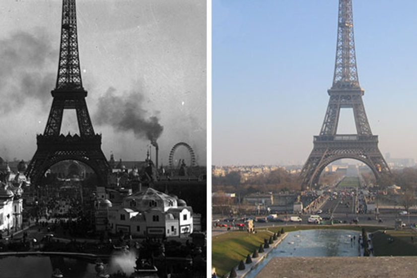 Ennyit változott Párizs több mint 100 év alatt: szebb volt, mint most