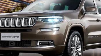 Új, óriási luxusterepjárót mutatott a Jeep