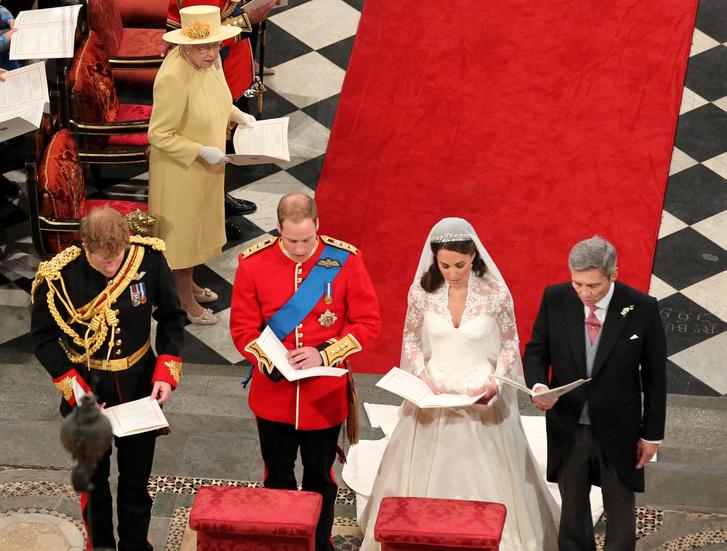 Vilmos esküvőjén Harry volt a vőlegény tanúja