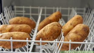 Mosogatógépben krumplit mosni? Miért ne?