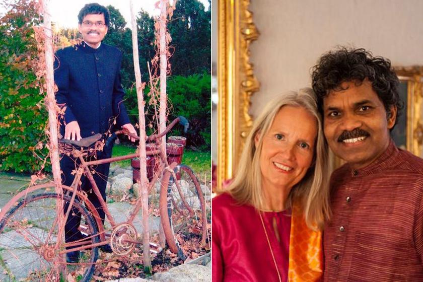Minden vagyonát eladta egy bicikliért a férfi - Ezért tekert Indiától Svédországig