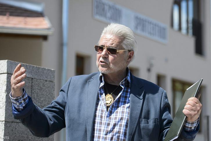 Oszter Sándor 2015 májusában