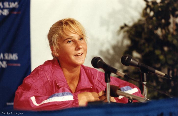 Szeles Mónika 1990 környékén
