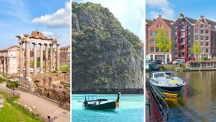 Ezeket a turistaparadicsomokat kerüld el nyáron
