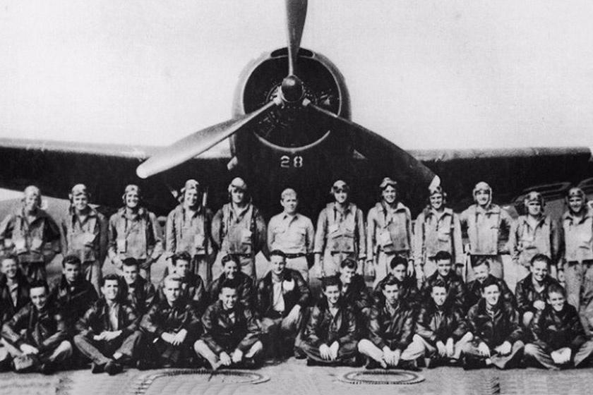 A Fort Lauderdale-ben állomásozó torpedóvető pilóták, köztük az öt eltűnt pilóta.