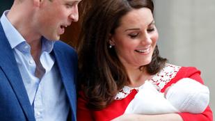 Katalin és Vilmos végre bejelentette az újszülött herceg nevét