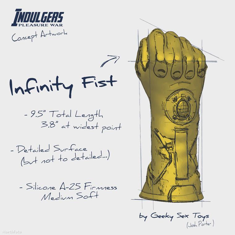 A történet szerint: Thanos a végtelen kövek erejét egy kesztyűbe akarja szuszakolni.