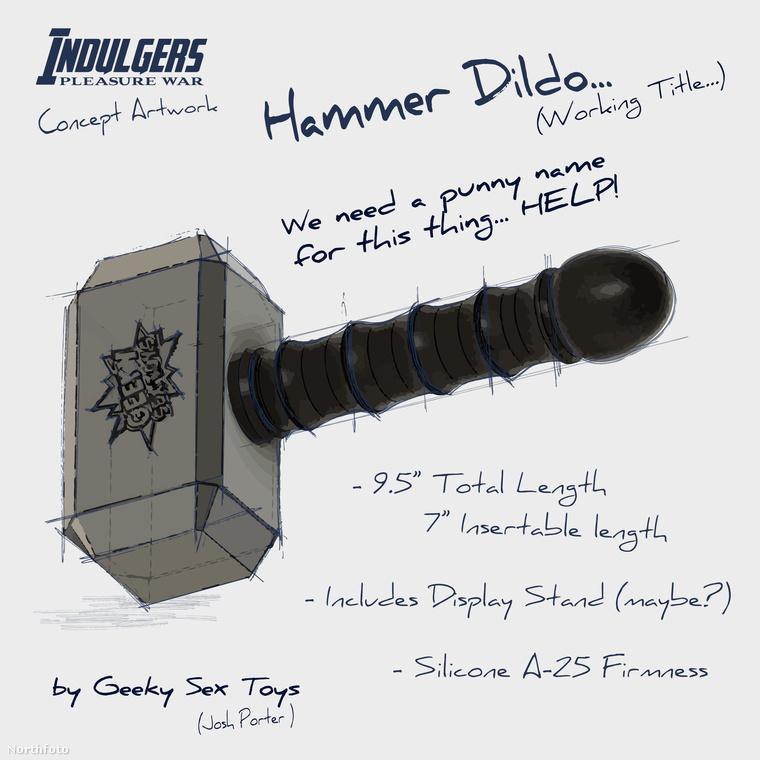 Itt a pöröly, amivel Thor kalapálja el a rosszakat.