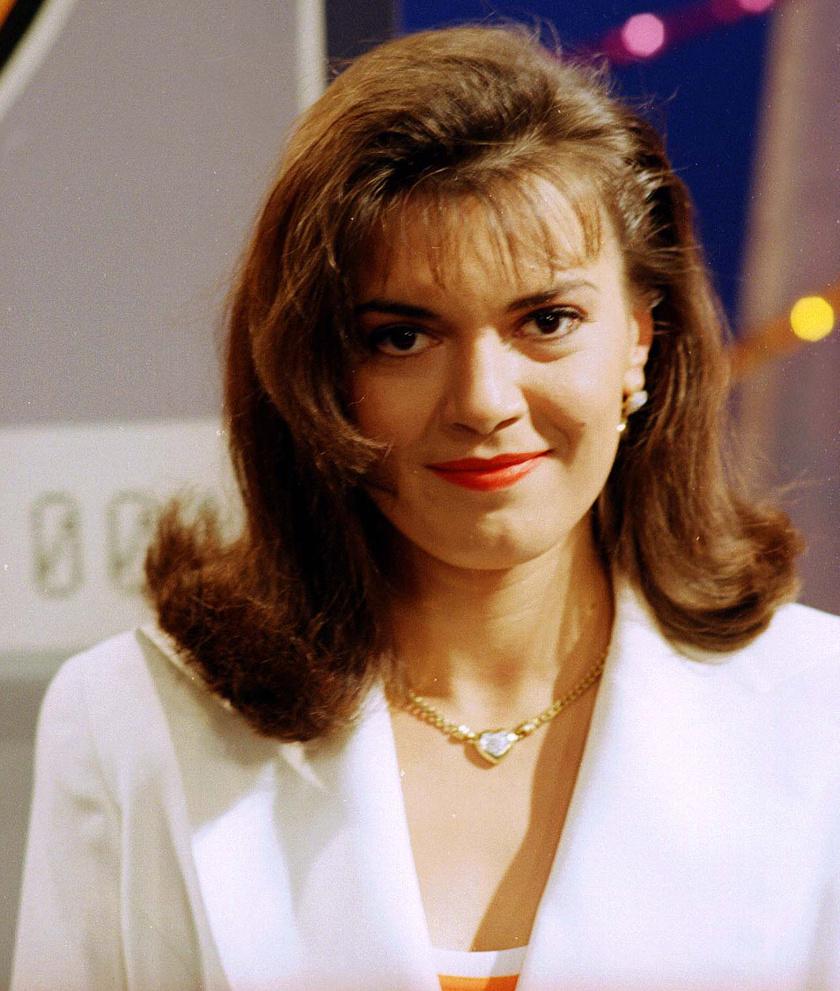 Borbás Marcsi 1996-ban a Magyar Televízió Telemázli című szórakoztató műsorában.