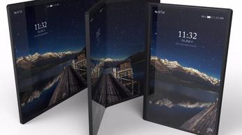 Három kijelző lesz Galaxy X mobilon