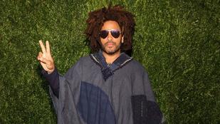 Rossz hír: Lenny Kravitz kicsit meghibbant