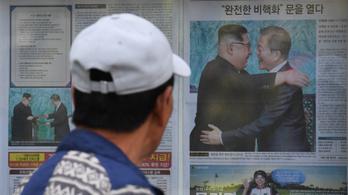 Az északi propagandasajtó is lelkesedik a két Korea megállapodásáért