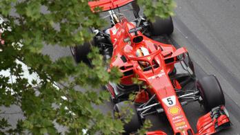 Vettel magához tért Bakuban