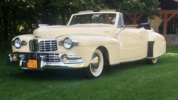 Balatonfüred Concours d'Élegance, 2018, Lincoln Continental Convertible – 1947.